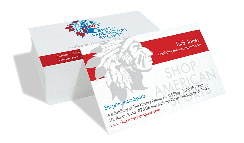Logo design for Shop American Sports