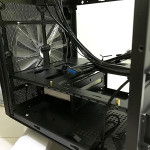 A big 200mm front case fan is included