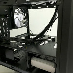 A 120mm case fan at the back is already installed